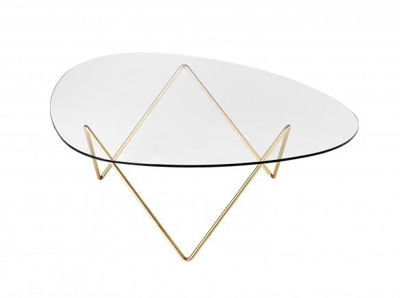 Designfarm designer furniture hay steelcase more for Table basse verre et laiton