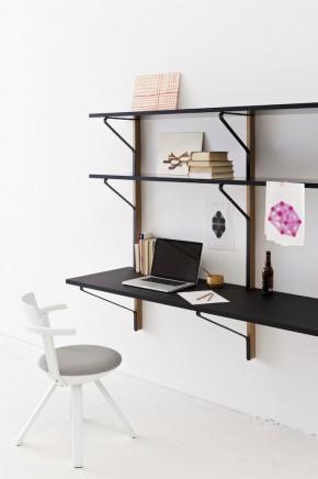 ARTEK Kaari shelving and desk