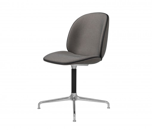 GUBI_Beetle chair casted swivel fully uph grey front