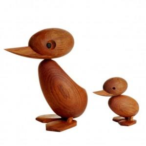 Duck-Duckling-Gruppe-Freisteller