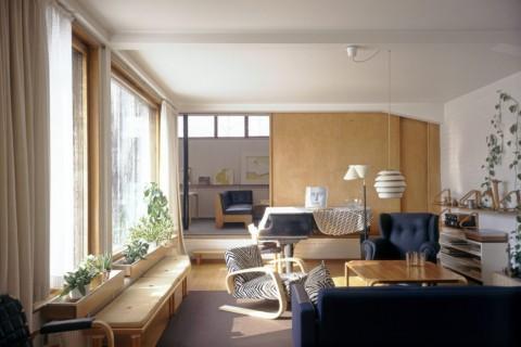 The Aalto House in Helsinki by Alvar Aalto 1935-1936
